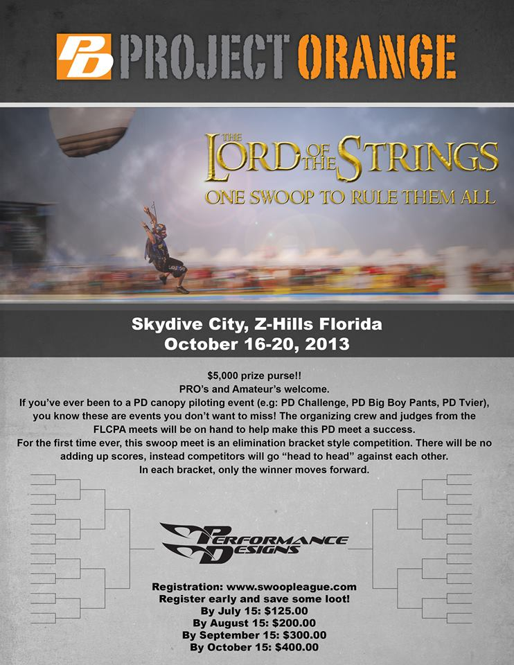Lord of the Strings flyer